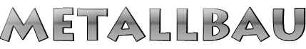 Metallbau Logo